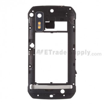 For Motorola Photon 4G, MB855 Middle Plate with Small Parts Replacement - Grade S+