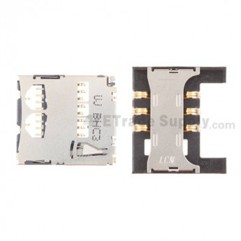 For Samsung Galaxy S II SGH-I777 SIM Card and SD Card PCB Board Replacement - Grade S+