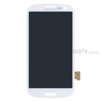 For Samsung Galaxy S III SCH-R530 LCD Screen and Digitizer Assembly  Replacement  - White - Grade S+