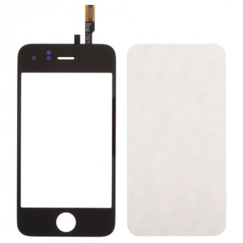 For Apple iPhone 3G Digitizer Touch Screen & Top Glass with Adhesive  Replacement - Grade S+