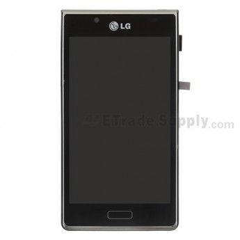 For LG Venice LG730 LCD Screen and Digitizer Assembly with Front Housing Replacement - Grade S+