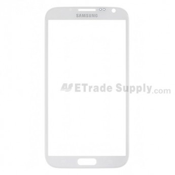 Replacement Part for Samsung Galaxy Note 2 SGH-i317 Glass Lens - White - A Grade