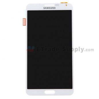 Replacement for Samsung Galaxy Note 3 N9006 LCD Screen and Digitizer Assembly - White - A Grade