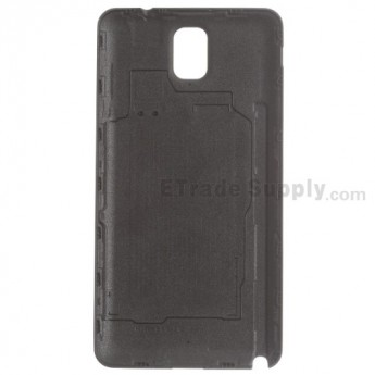 Replacement Part for Samsung Galaxy Note 3 SM-N900T Battery Door - Black - With T-Mobile and Galaxy Note 3 Logo - A Grade