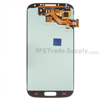 Replacement Part for Samsung Galaxy S4 GT-I9500 LCD Screen and Digitizer Assembly - Dark Red - With Samsung Logo Only - A Grade