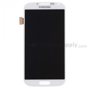 Replacement Part for Samsung Galaxy S4 SCH-R970 LCD Screen and Digitizer Assembly - White - With Samsung Logo - A Grade