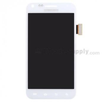 For Samsung Galaxy S II Epic 4G SPH-D710 LCD Screen and Digitizer Assembly Replacement - White - Grade S+