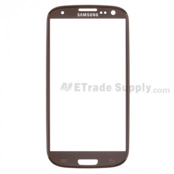 Replacement Part for Samsung Galaxy S III SPH-L710 Glass Lens - Brown - A Grade