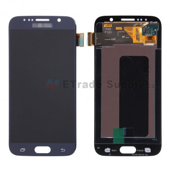 For Samsung Galaxy S6 Samsung-G920/G920A/G920P/G920R4/G920T/G920F/G920V LCD Screen and Digitizer Assembly Replacement - Sapphire - Grade S