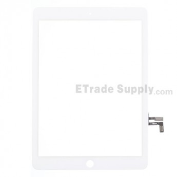 For Apple iPad Air Digitizer Touch Screen Replacement - White - Grade S