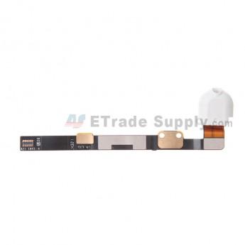 For Apple iPad Mini 3 Audio Flex Cable Ribbon Replacement - White - Grade S+