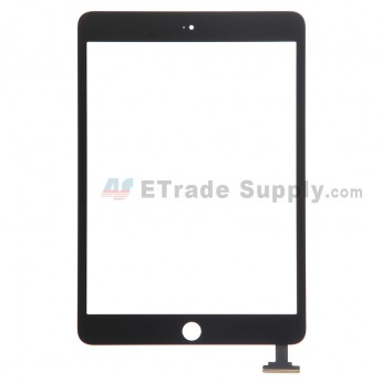 For Apple iPad Mini 3 Digitizer Touch Screen Replacement - Black - Grade S