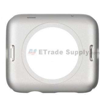 For Apple Watch Middle Frame Replacement - Silver - 42mm - Grade S+
