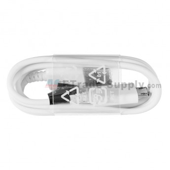 For Samsung Galaxy S6 Series USB Data Cable - White - Grade S+