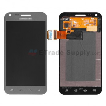 For Samsung Galaxy S II Epic 4G SPH-D710 LCD Screen and Digitizer Assembly  Replacement - Gray - Grade S+