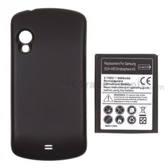 For Samsung Stratosphere SCH-I405 Extended Life Battery with Over-sized Battery Door  Replacement (4000 mAh) - Grade R