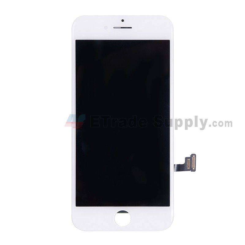apple iphone 7 lcd screen and digitizer assembly with frame white etrade supply. Black Bedroom Furniture Sets. Home Design Ideas