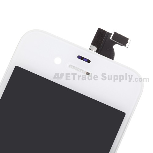 OEM Apple iPhone 4 LCD Screen and Digitizer Assembly with Frame (Verizon Wireless)