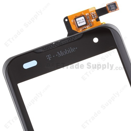 OEM LG G2x P999 Digitizer Touch Screen with Front Housing