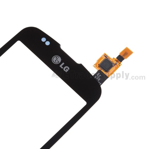 OEM LG Optimus T P509, Optimus One P500 Digitizer Touch Screen without Adhesive