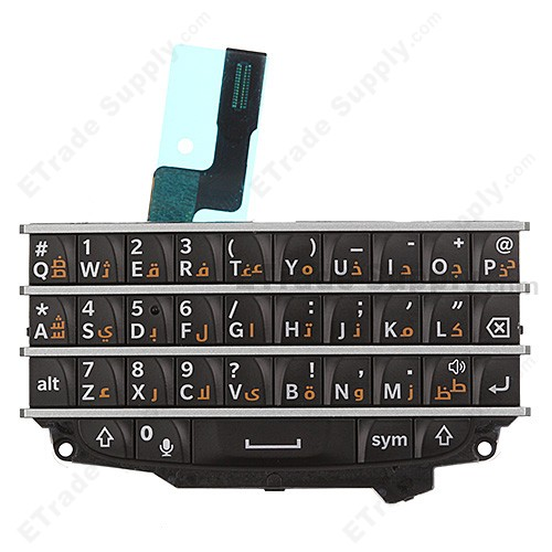 BlackBerry Q10 Keypad and Keyboard Assembly (Arabic ...