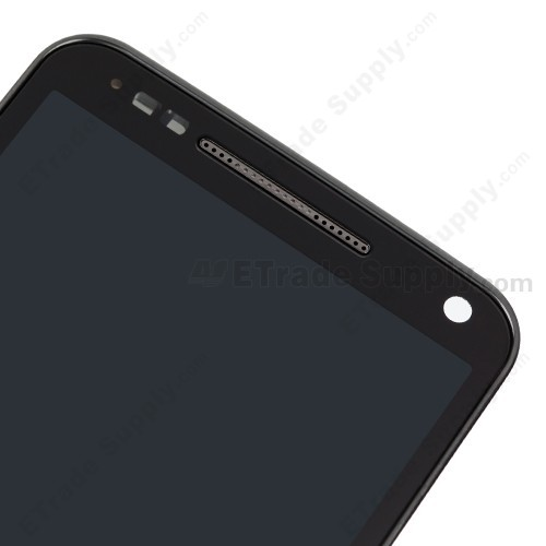 Motorola Electrify M XT901 LCD Screen and Digitizer Assembly with Front Housing Upper Part