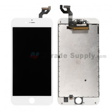 For Apple iPhone 6S Plus LCD Screen and Digitizer Assembly with Frame Replacement - White - Grade S (5)