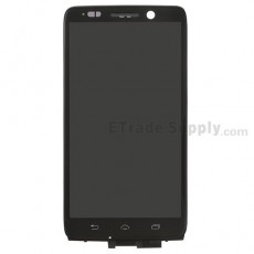 For Motorola Droid Mini XT1030 LCD Screen and Digitizer Assembly with Front Housing Replacement - Black - Without Any Logo - Grade S+