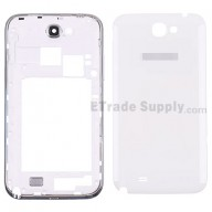 For Samsung Galaxy Note II N7100 Housing Replacement - White - Grade S+