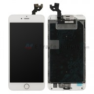 For Apple iPhone 6S Plus LCD Screen and Digitizer Assembly with Frame and Home Button Replacement - Rose Gold - Grade S+