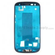 For Samsung Galaxy S III SCH-I535 Front Housing  Replacement - Black - Grade S+