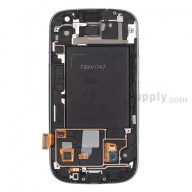 Replacement Part for Samsung Galaxy S III SGH-I747 LCD Screen and Digitizer Assembly with Front Housing - White - A Grade