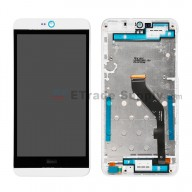 For HTC Desire 826 LCD Screen and Digitizer Assembly with Front Housing Replacement - White - Grade S+