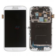 For Samsung Galaxy S4 SCH-I545 LCD Screen and Digitizer Assembly with Front Housing  Replacement  - White - Samsung Logo - Grade S+