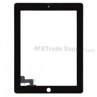 Replacement Part for Apple iPad 2 Digitizer Touch Screen - Black - A Grade