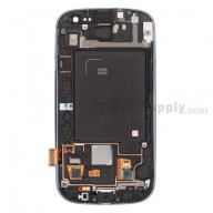 Replacement Part for Samsung Galaxy S III SCH-I535 LCD Screen and Digitizer Assembly with Front Housing - Sapphire - A Grade