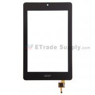 For Acer Iconia One 7 B1-730 Digitizer Touch Screen Replacement - Black - With Logo - Grade S+