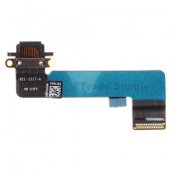 For Apple iPad Mini Charging Port Flex Cable Ribbon Replacement - Black - Grade S+