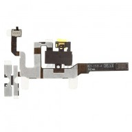 Replacement Part for Apple iPhone 4S Audio Flex Cable Ribbon - Black - A Grade