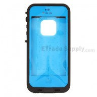 For Apple iPhone 5 Waterproof Protective Case - Blue - Grade S+