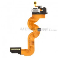 For Apple iPod Touch 5th Charging Port Flex Cable Ribbon  Replacement - Black - Grade S+