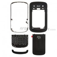 For BlackBerry Bold Touch 9900 Complete Housing Replacement ,Black - Grade S+