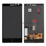 For Nokia Lumia 930 LCD Screen and Digitizer Assembly Replacement - Black - With Logo - Grade S+