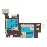 For Samsung Galaxy Note 2 SGH-i317 SIM Card and SD Card Reader Contact Replacement - Grade S+