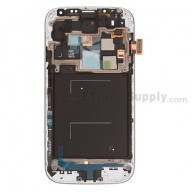 Replacement Part for Samsung Galaxy S4 SCH-I545 LCD Screen and Digitizer Assembly with Front Housing - Black - With Samsung Logo Only - A Grade