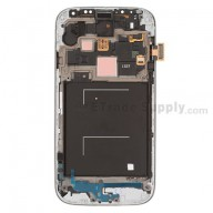 Replacement Part for Samsung Galaxy S4 SGH-I337 LCD Screen and Digitizer Assembly with Front Housing - Black - A Grade