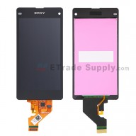 For Sony Xperia Z1 Compact LCD Screen and Digitizer Assembly Replacement - With Sony Logo Only - Grade S+