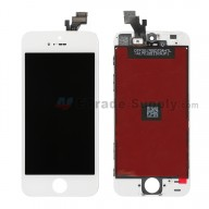 Replacement Part for Apple iPhone 5 LCD Screen and Digitizer Assembly with Frame - White - A Grade