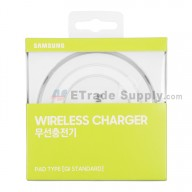 For Samsung Galaxy S6 Series Round Wireless Charging Pad - White - Grade S