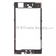 For Sony Xperia Z3 Compact Rear Housing Replacement - Black - Grade S+